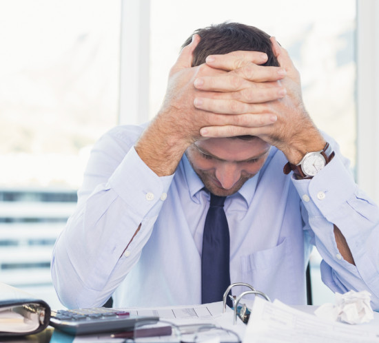 Workplace Stress - A Stressed-Out Man